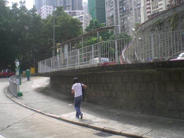 Walking in the Sidewalk